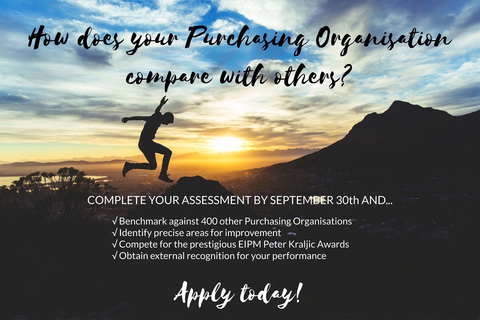 Apply today for the 2017 EIPM Peter Kraljic Awards!