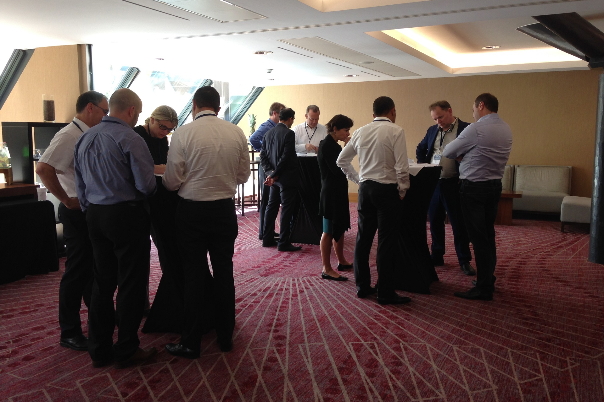 A group of Executives during the EIPM CPO Round Table