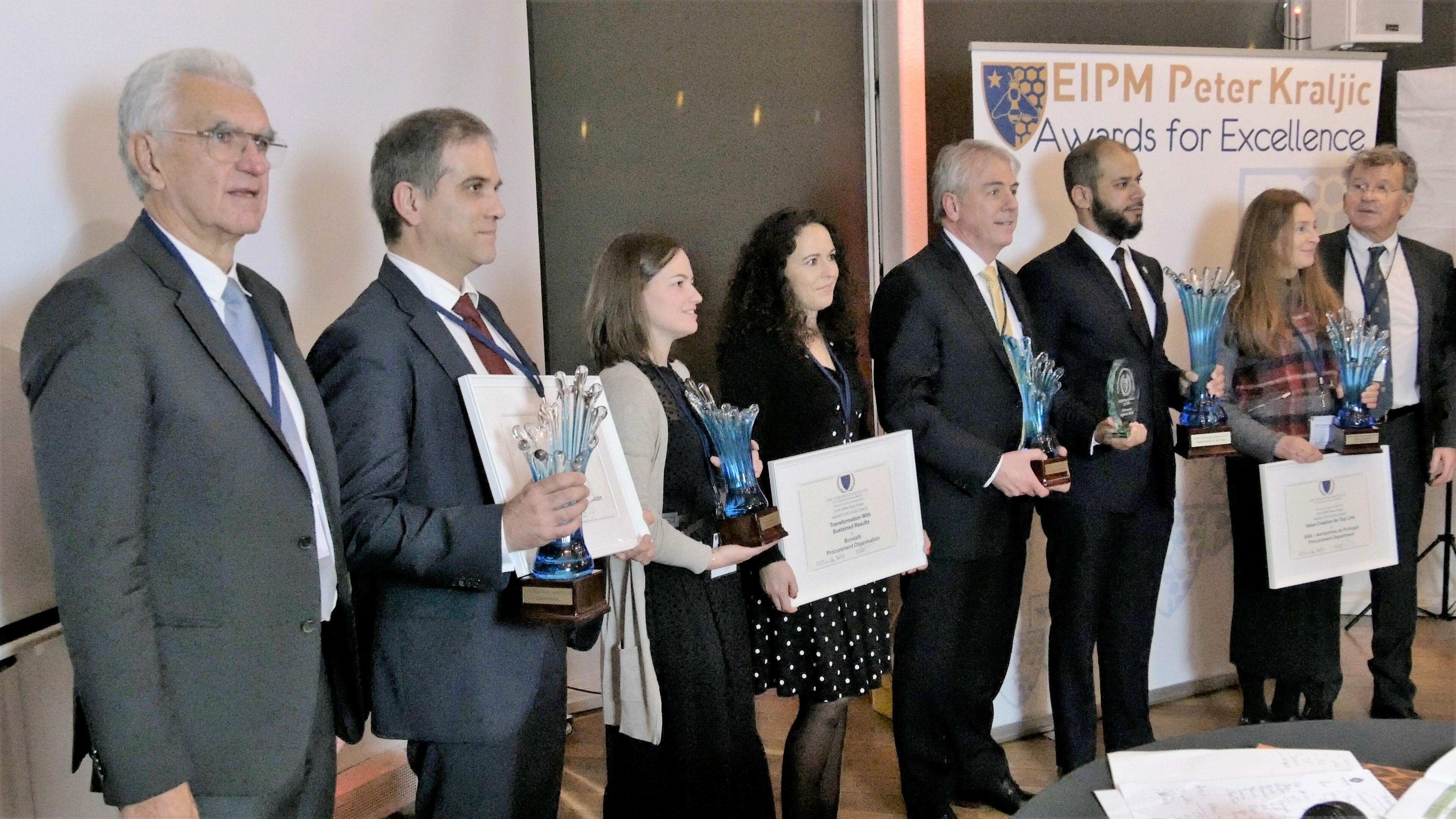Award Winners of the 2019 EIPM-Peter Kraljic Awards