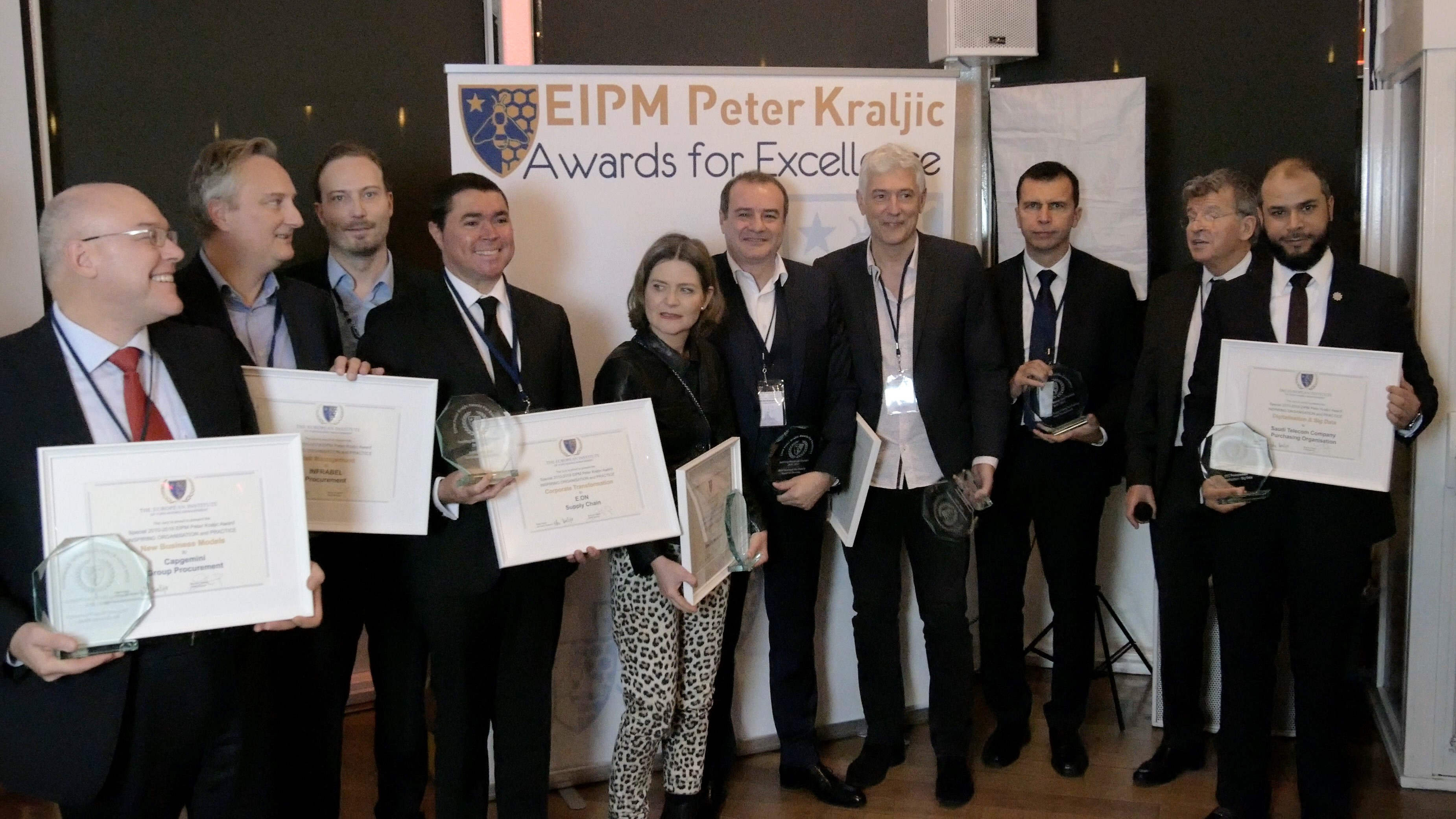 Award Winners of the Inspiring EIPM-Peter Kraljic Awards